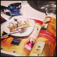 Beyond Chocolat Booktalk at de Studi Cooking School, with Reading Map